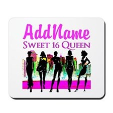 16TH NYC CHICK Mousepad