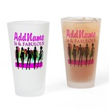 TRENDY 16TH Drinking Glass