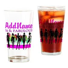 TRENDY 16TH Drinking Glass