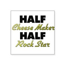 Half Cheese Maker Half Rock Star Sticker