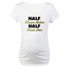 Half Cheese Maker Half Rock Star Shirt