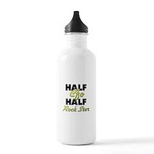 Half Cfo Half Rock Star Water Bottle