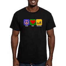 Peace Love Swimming T-Shirt