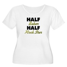 Half Baker Half Rock Star Plus Size T-Shirt