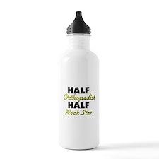 Half Orthopedist Half Rock Star Water Bottle