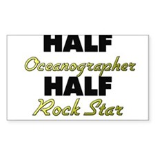 Half Oceanographer Half Rock Star Decal