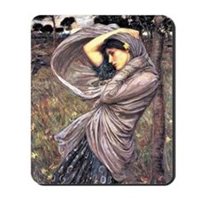 John Waterhouse painting - Boreas, 1903 Mousepad