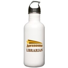 Awesome Librarian Water Bottle