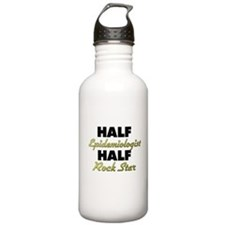 Half Epidemiologist Half Rock Star Water Bottle