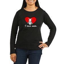 I Love Moo T-Shirt