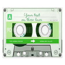 Cassette Tape - Green King Duvet