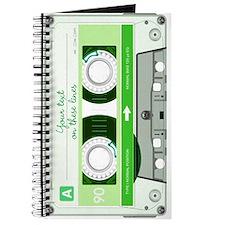 Cassette Tape - Green Journal