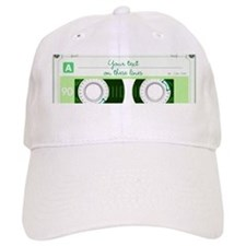 Cassette Tape - Green Baseball Cap