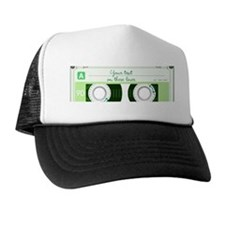 Cassette Tape - Green Trucker Hat