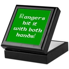 Rangers hit it... Keepsake Box