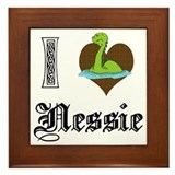 I [HEART] NESSIE Framed Tile