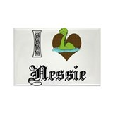 I [HEART] NESSIE Rectangle Magnet