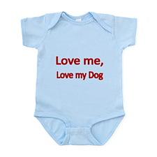 Love me, love my Dog Body Suit