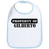 Property of Gilberto Bib