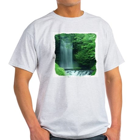 Waterfalls Ash Grey T-Shirt
