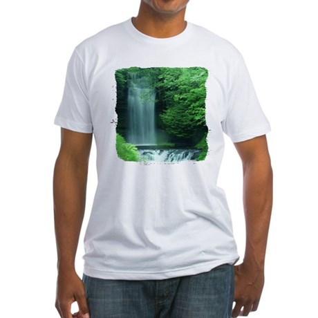 Waterfalls Fitted T-Shirt