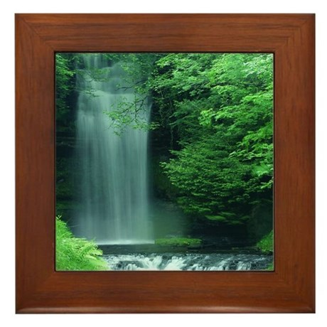 Waterfalls Framed Tile