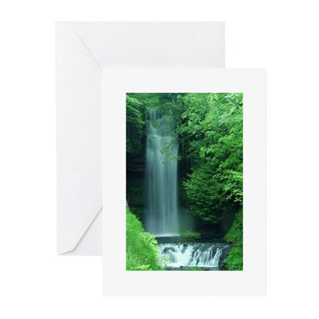 Waterfalls Greeting Cards (Pk of 10)