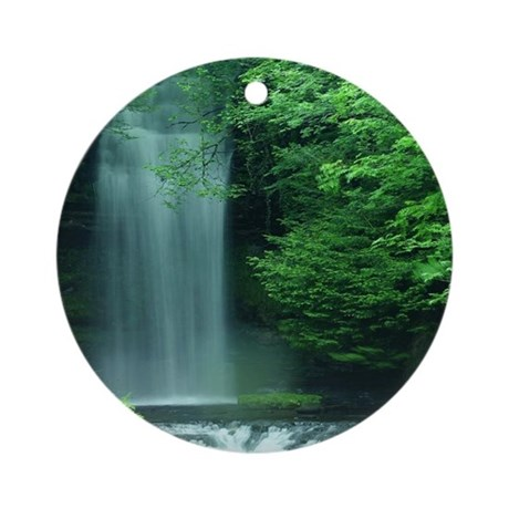Waterfalls Ornament (Round)