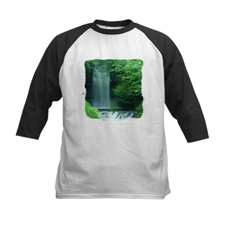 Waterfalls Kids Baseball Jersey