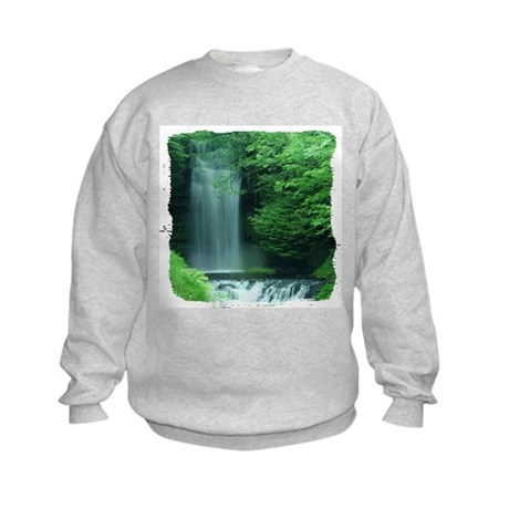 Waterfalls Kids Sweatshirt