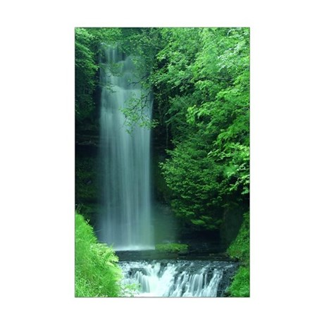 Waterfalls Mini Poster Print