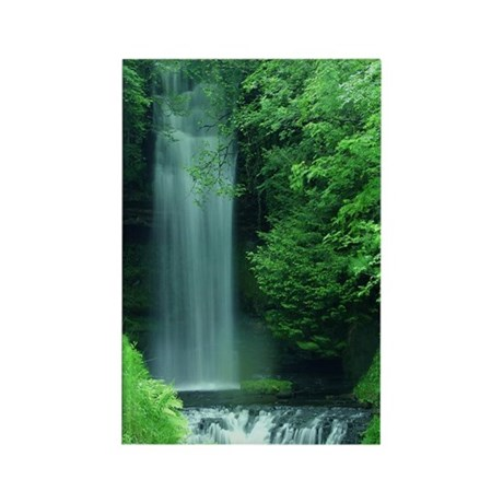 Waterfalls Rectangle Magnet (100 pack)