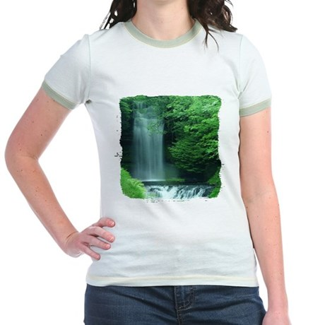 Waterfalls Jr. Ringer T-Shirt