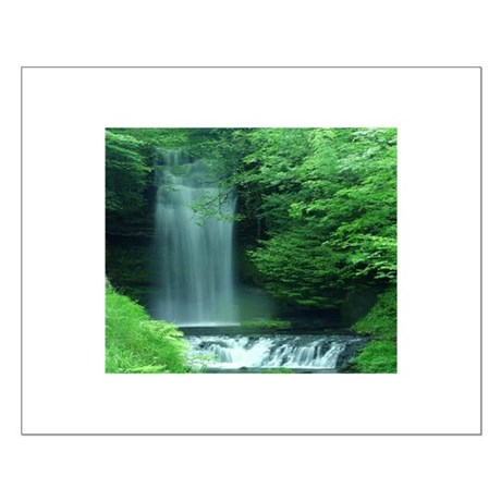 Waterfalls Small Poster
