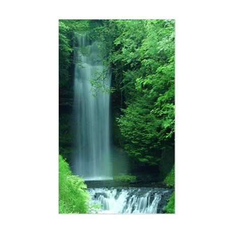 Waterfalls Rectangle Sticker
