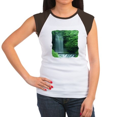 Waterfalls Women's Cap Sleeve T-Shirt