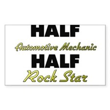 Half Automotive Mechanic Half Rock Star Decal