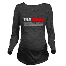Team Morgan Long Sleeve Maternity T-Shirt
