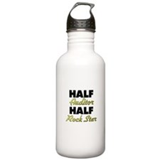 Half Auditor Half Rock Star Water Bottle