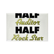 Half Auditor Half Rock Star Magnets
