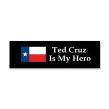 Ted Cruz is my hero dark bump Car Magnet 10 x 3