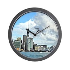 Auckland Skyline Wall Clock