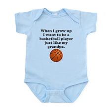 Basketball Player Like My Grandpa Body Suit