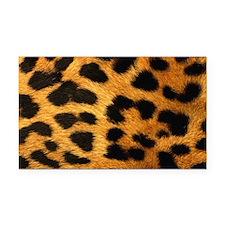 modern leopard print fashion Rectangle Car Magnet