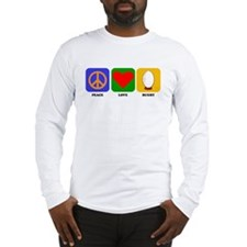 Peace Love Rugby Long Sleeve T-Shirt