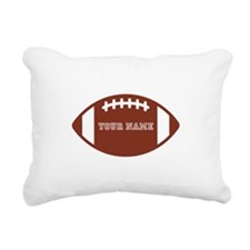 Custom name Football Rectangular Canvas Pillow