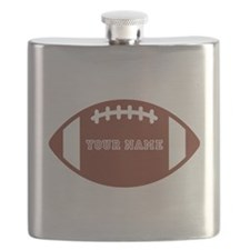Custom name Football Flask