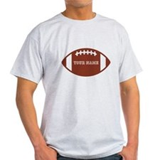 Custom name Football T-Shirt