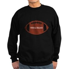 Custom name Football Sweater
