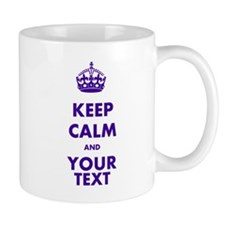Personalized Keep Calm Mug